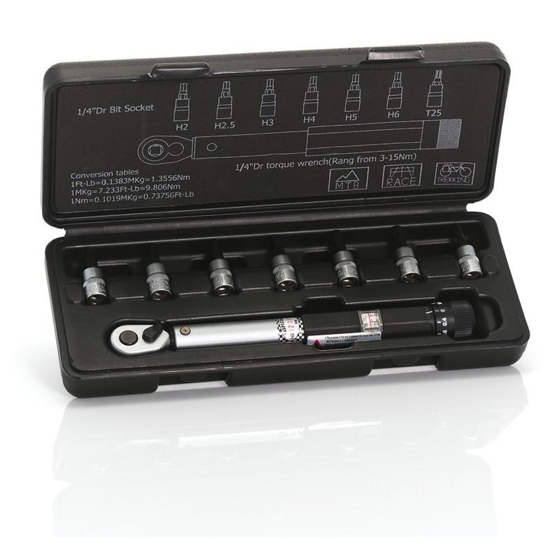 XLC momentnøgle 3 - 15 Nm | Værktøj