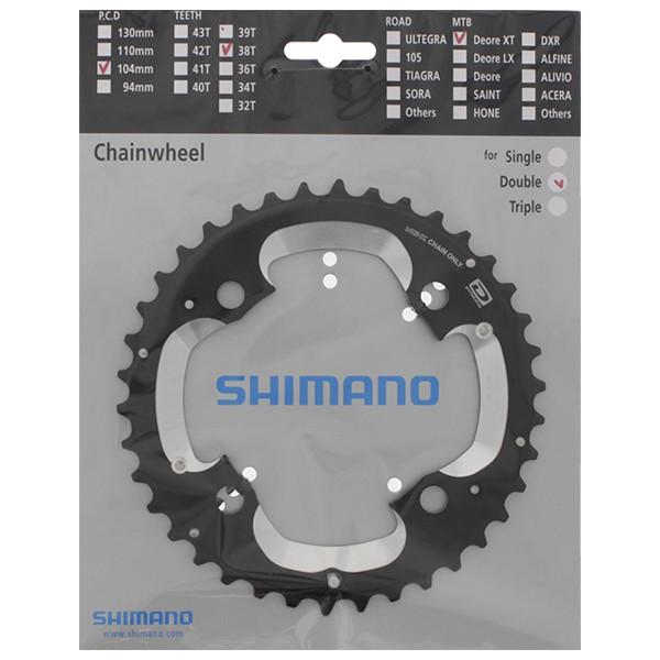 Shimano FC-M785 Klinge 38T Ø104 | Klinger