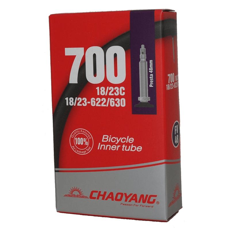 Chaoyang Slange 700x19-23C FV48 48mm ventil | Slanger