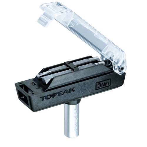 Topeak Værktøj Momentnøgle 5Nm Torque nøgle med 4 bits | Værktøj