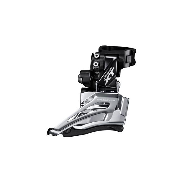 Shimano Forskifter XT M8000 11-sp Dobbel, DS, DP, high clamp | Front derailleur