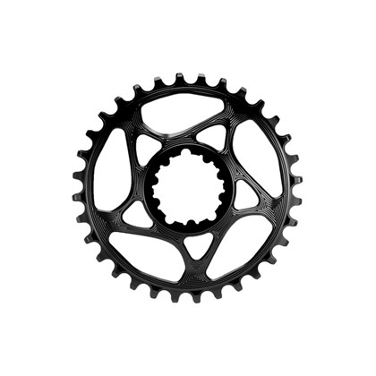 ABSOLUTEBLACK Klinge narrow / wide Sram GXP sort 34 tands