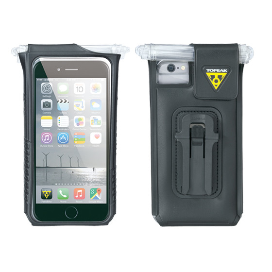 Topeak smartphone taske iPhone 6 Plus Sort | phone_mounts_component