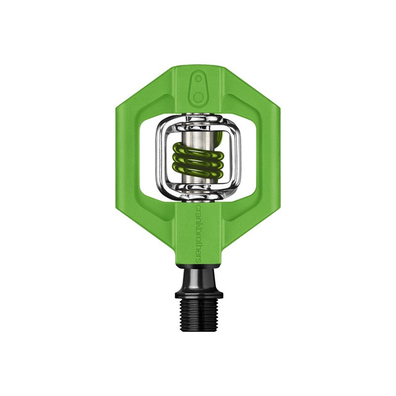 CRANKBROTHERS Pedal Candy 1 Grey/Green | Pedaler