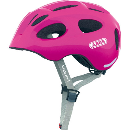 Abus cykelhjelm Youn-I, sparkling pink