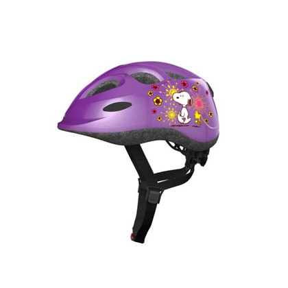 Abus Hjelm Smiley, radiserne flower purple | Hjelme