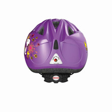 Abus Hjelm Smiley, radiserne flower purple