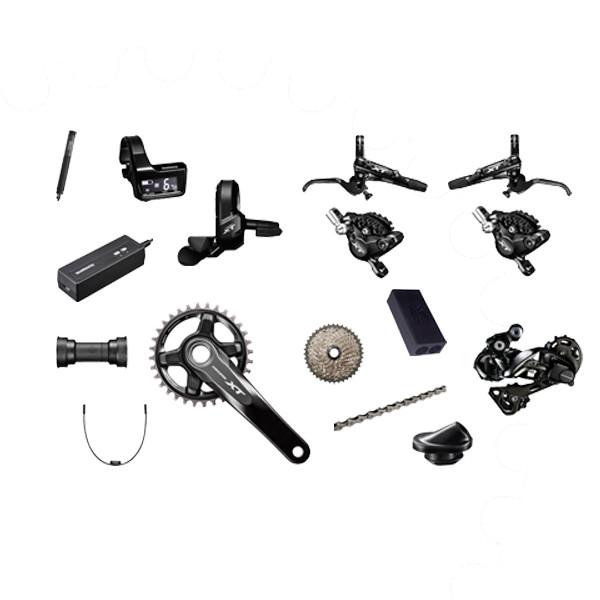 Shimano XT M8050 Di2 Elektronisk Gear Gruppe | Geargrupper