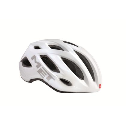 MET cykelhjelm Idolo hvid Med LED Lys | Hjelme