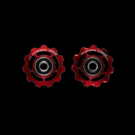 Ceramicspeed PW Alloy Shimano 11 Speed rød   Pulleyhjul