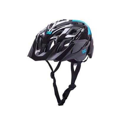 KALI cykelhjelm Chakra Solo Helmet. Black / blue   Hjelme