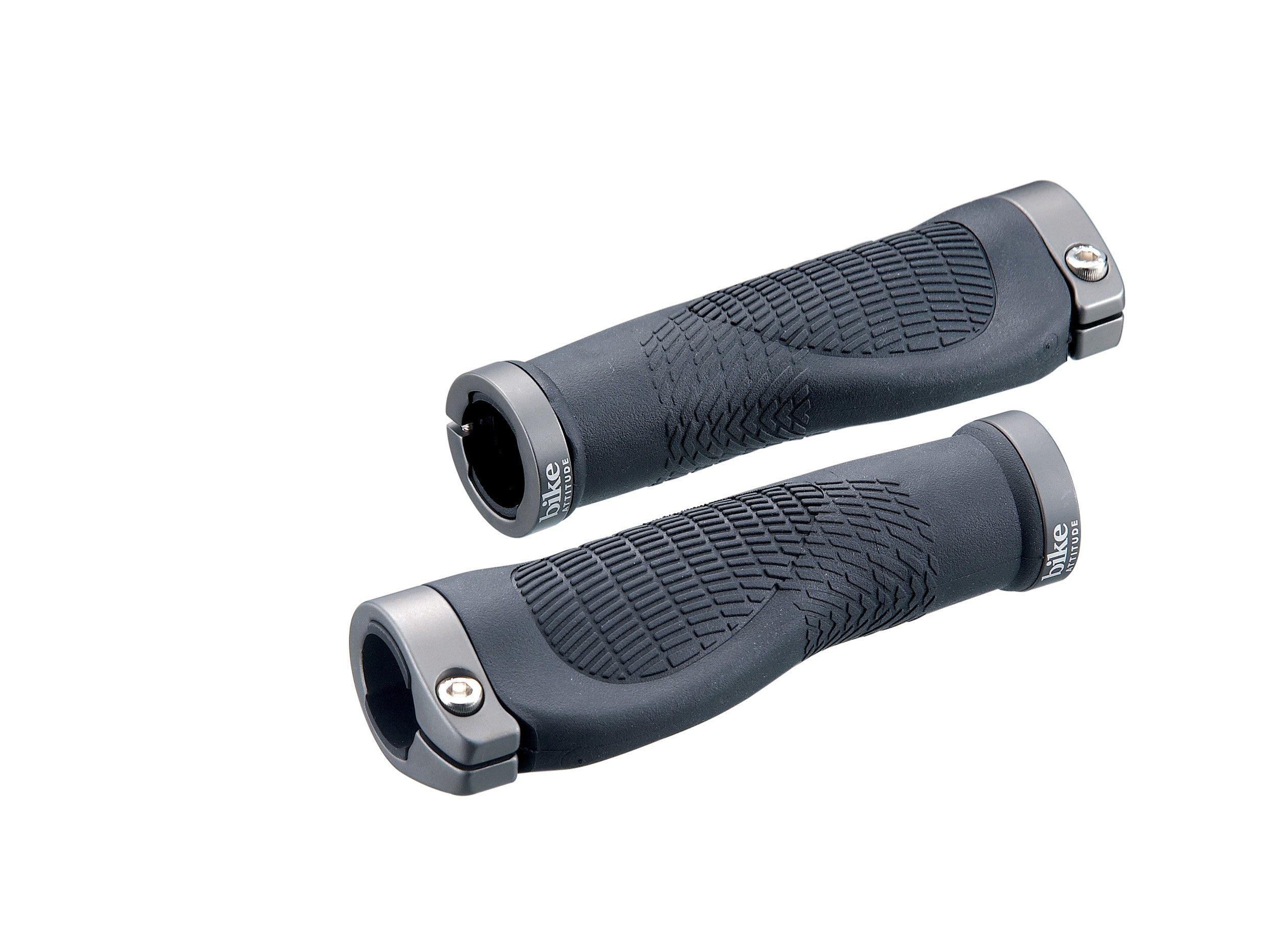 Håndtag Bike Attitude Ergonomisk Sort Med Gel 125 mm m/skrue | Handles