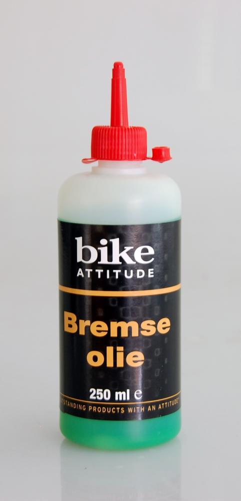 Bremseolie Bike Attitude 250 ml mineralsk olie til bla. Shimano | polish_and_lubricant_component