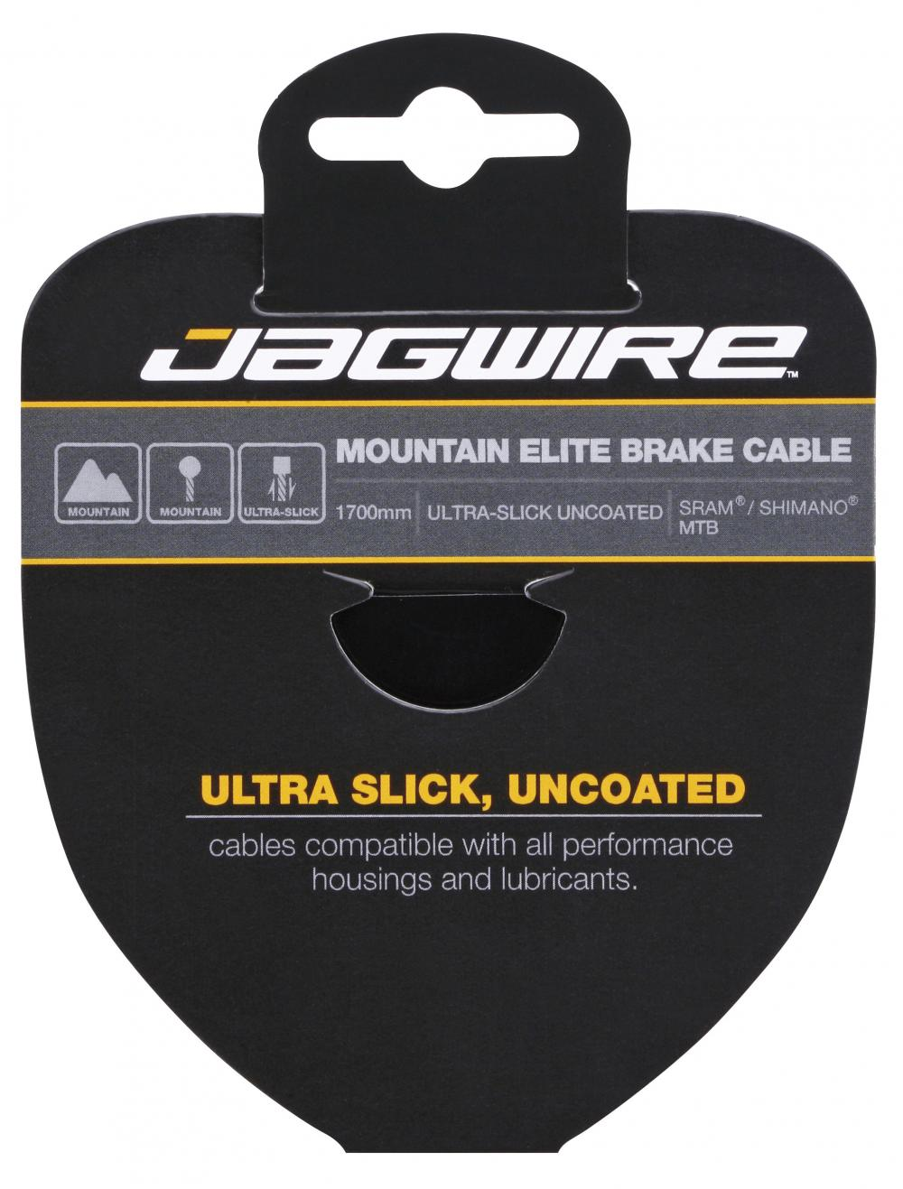Bremsewire Jagwire Elite Polished Ultra Slick 1,5 x 1700mm Shimano/Sram race