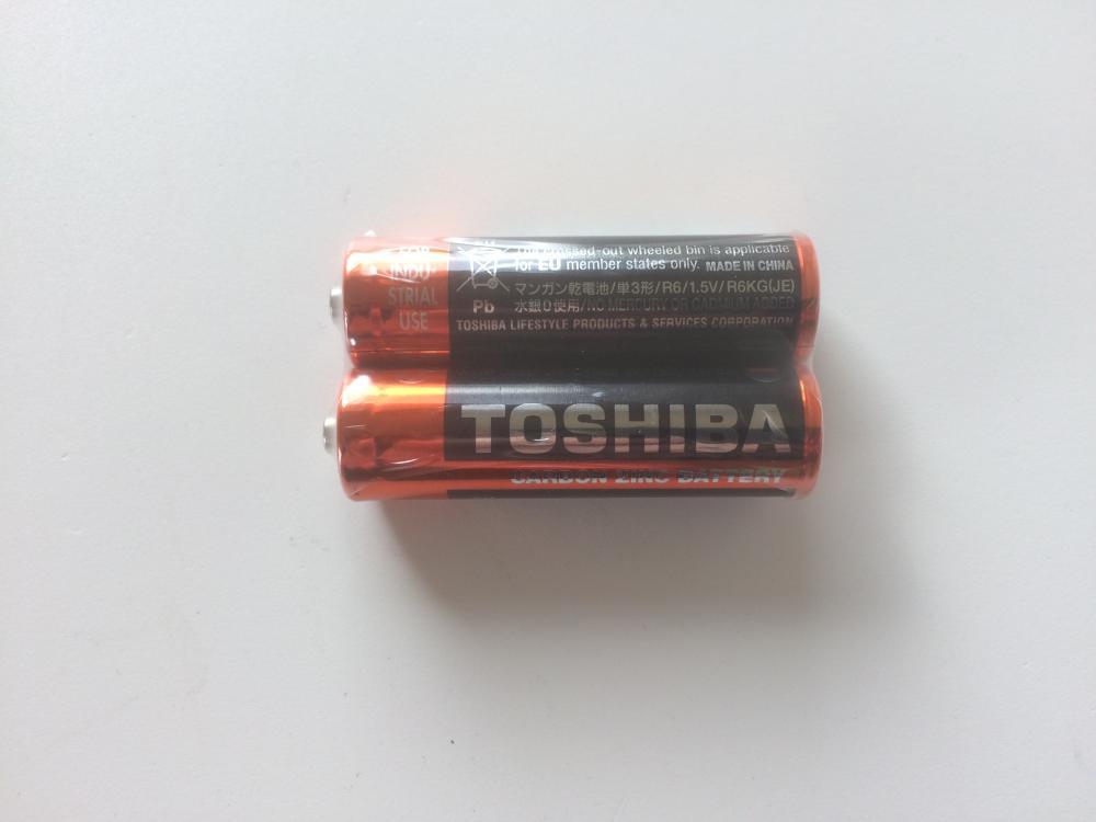 Batteri Toshiba AA/LR06 (pakke = 2 stk.) | Computer Battery and Charger