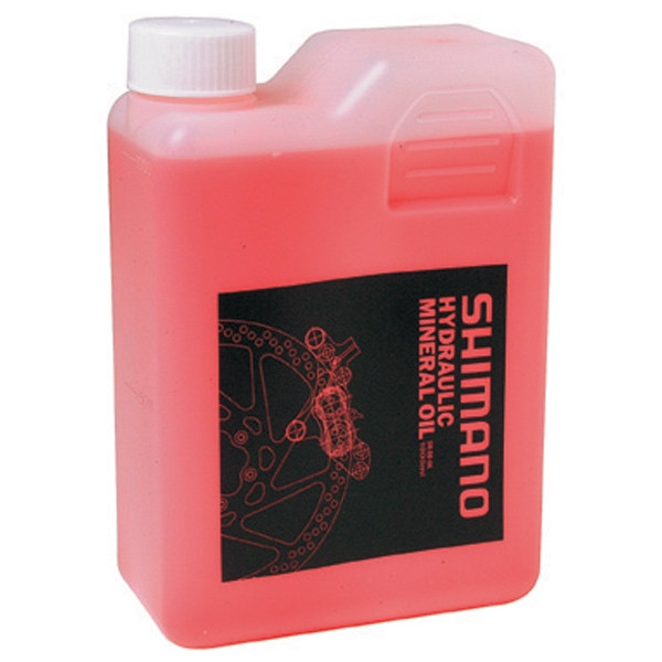 Shimano Hydraulisk Mineral Olie 1000ml | polish_and_lubricant_component