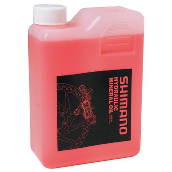 Shimano Hydraulisk Mineral Olie 1000ml | Rengøring og smøremidler