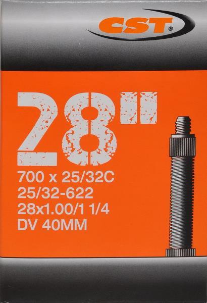 Cykelslange 700x25-32C DV40 | Slanger