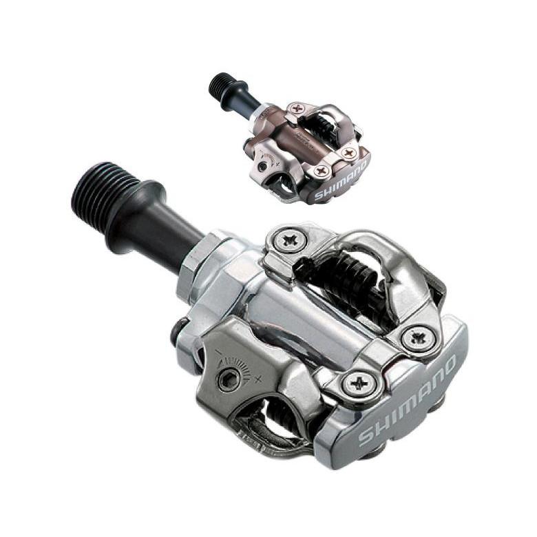 Shimano pedal PD-M540 SPD - sølv | Pedaler