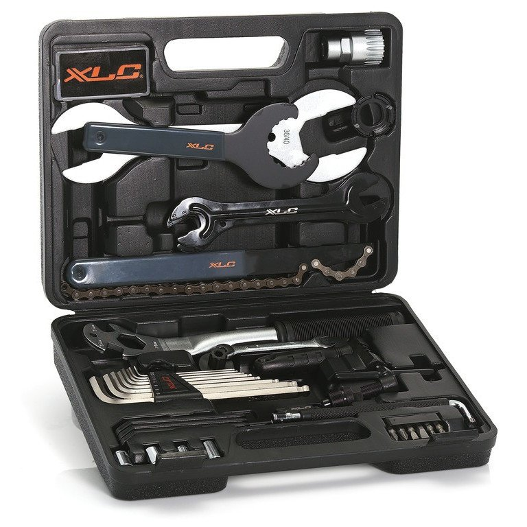 XLC værktøjssæt TO-S61 med 33 dele. | tools_component