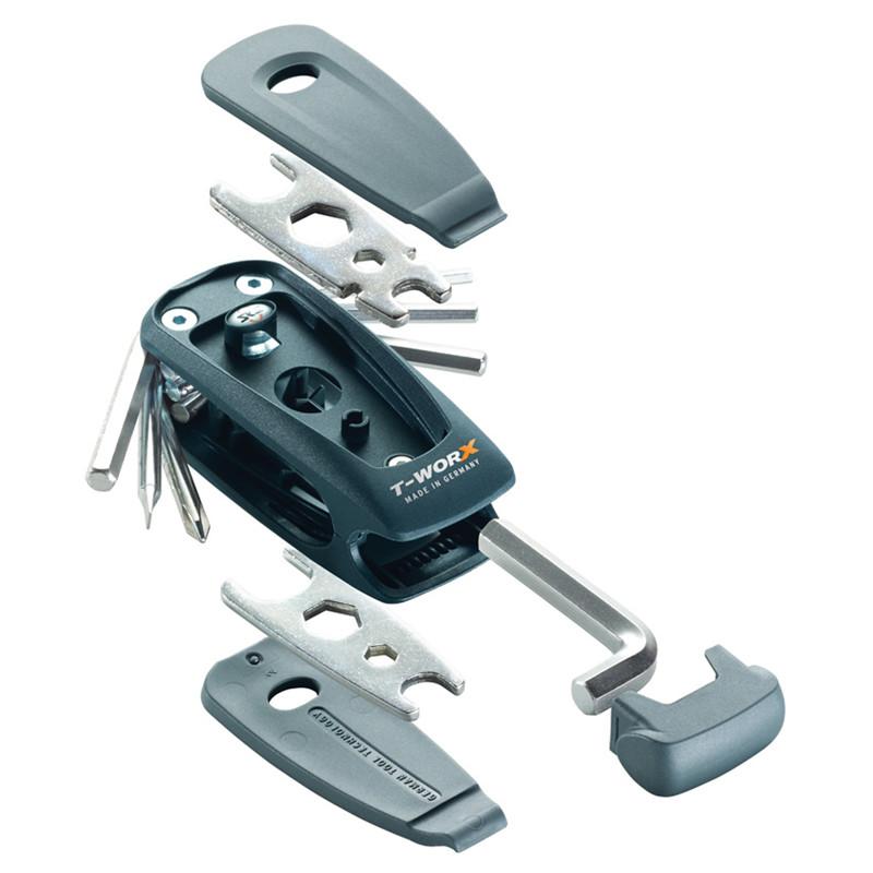 SKS værktøjssæt model T-Worx med 19 funktioner | Værktøj