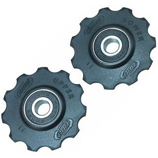 Kædeførerhjul BBB 11t sort - 69,00 | Pulley wheels