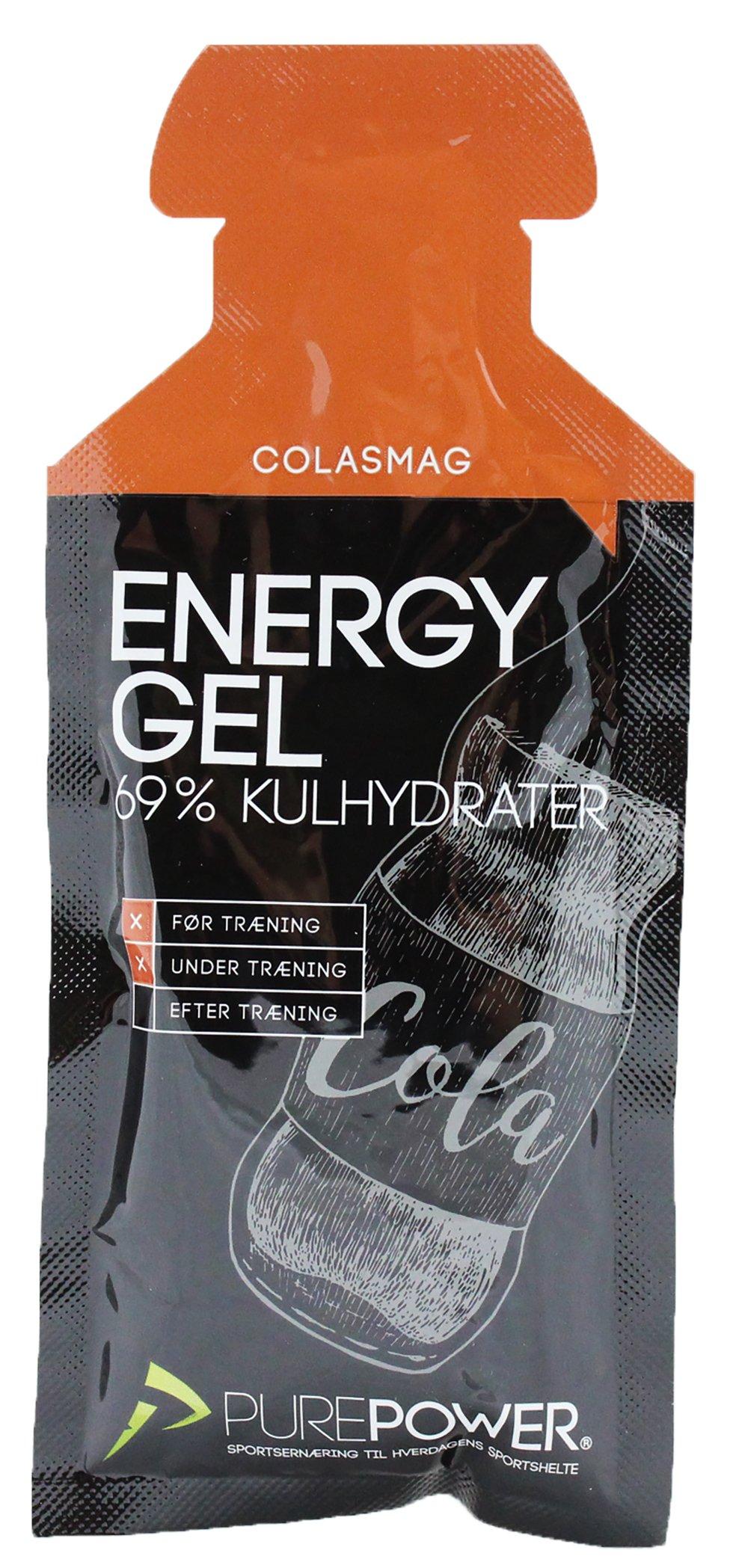 PurePower Energi Gel Cola smag 40g | Energy gels