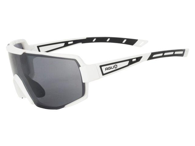 AGU Bold cykelbriller i hvid/sort | Briller