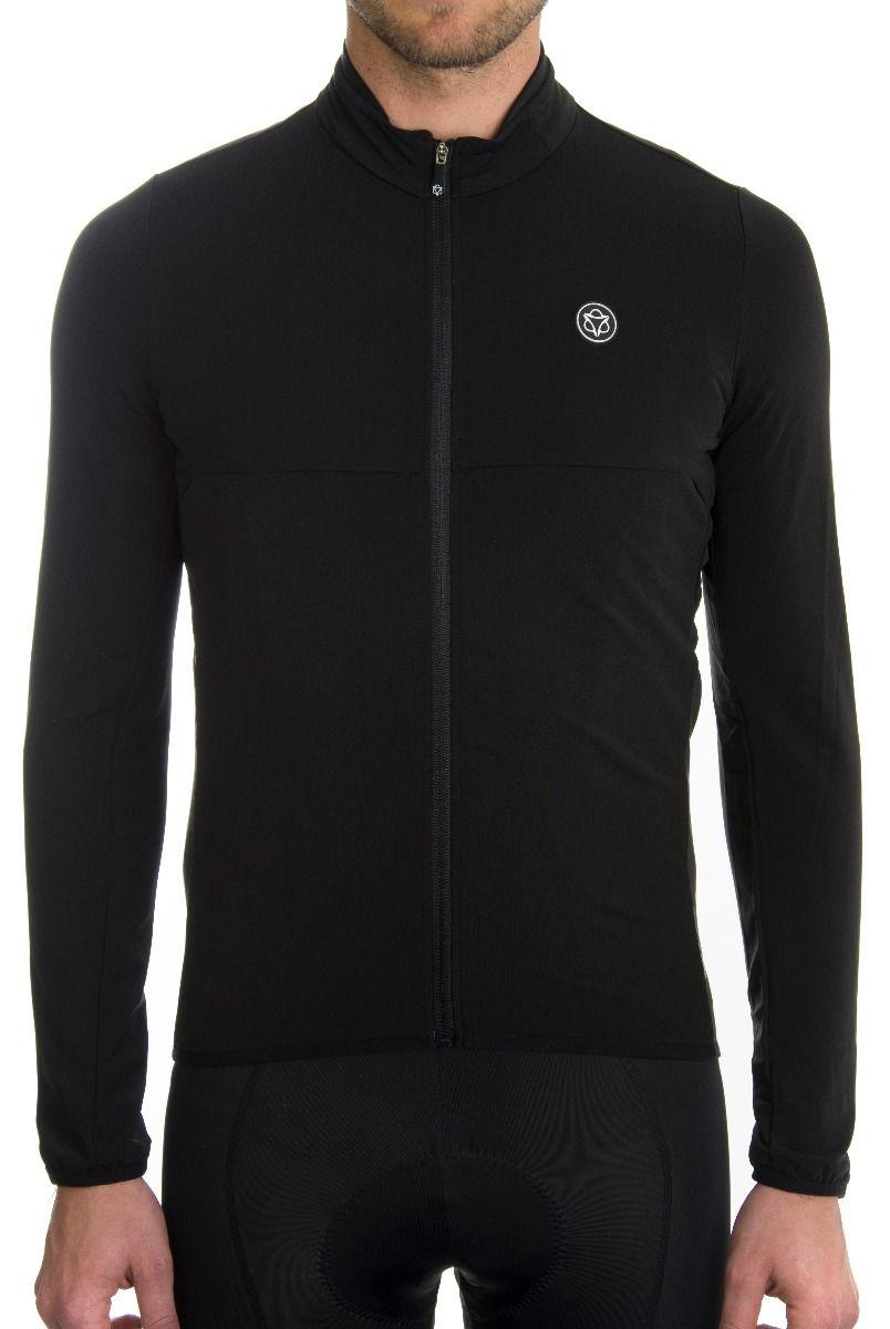 AGU Essential Thermo længærmet herre cykeltrøje i sort - 399,20 | Jerseys