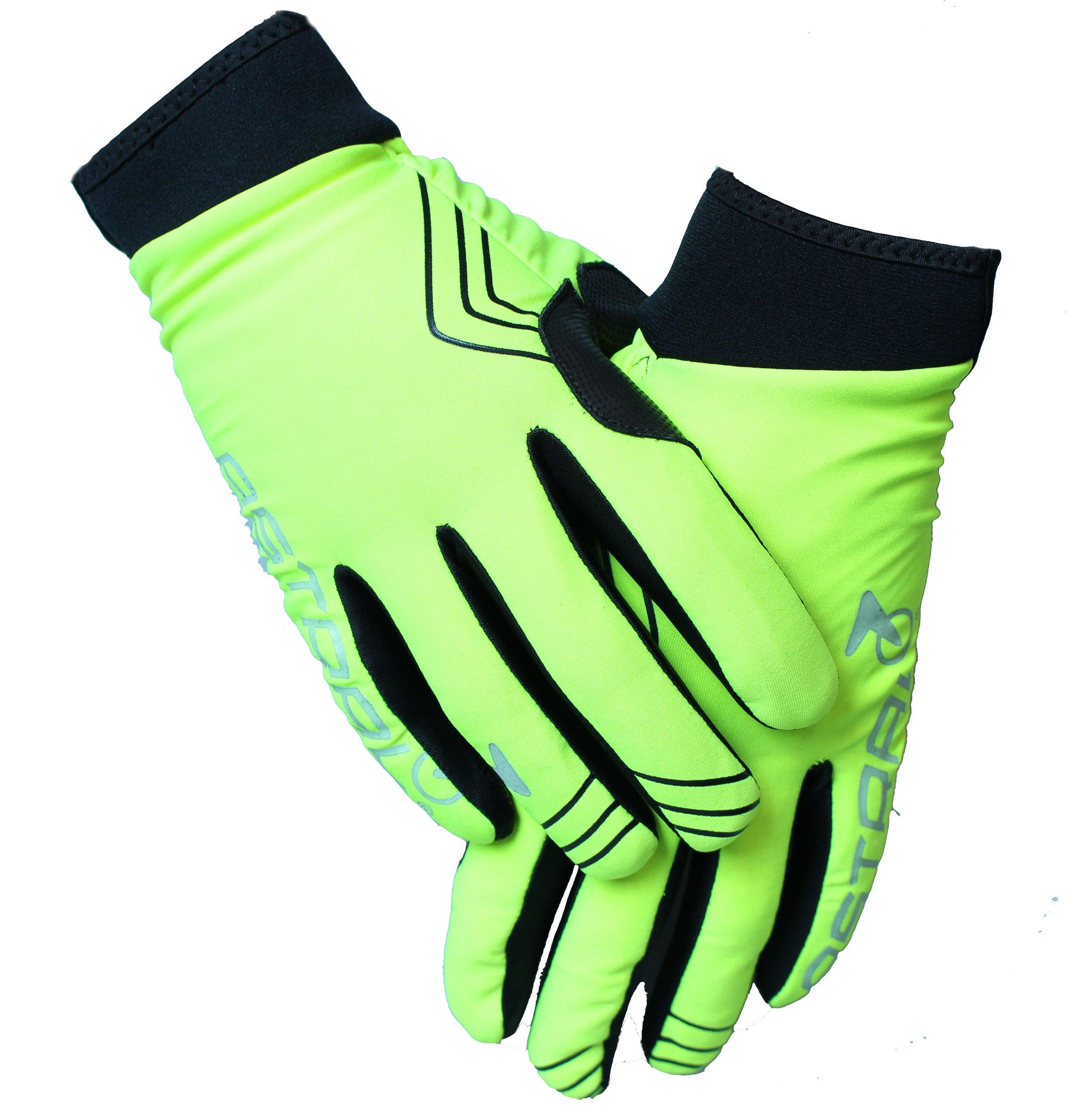 Astral Protect Softshell Vind og vandafvisende Handsker Fluo - 169,00 | Gloves