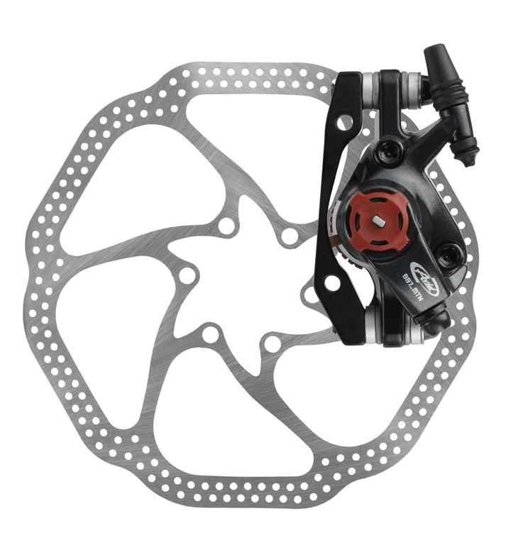 Disc brake Avid BB7 MTB mechanicblack Disc 160mm FW/RW   Brake pads