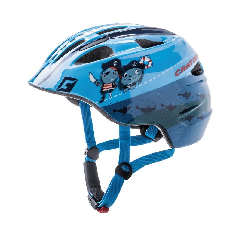 Helmet Cratoni Akino (Kid)s. S (49-53cm) pirate blue gloss | Helmets