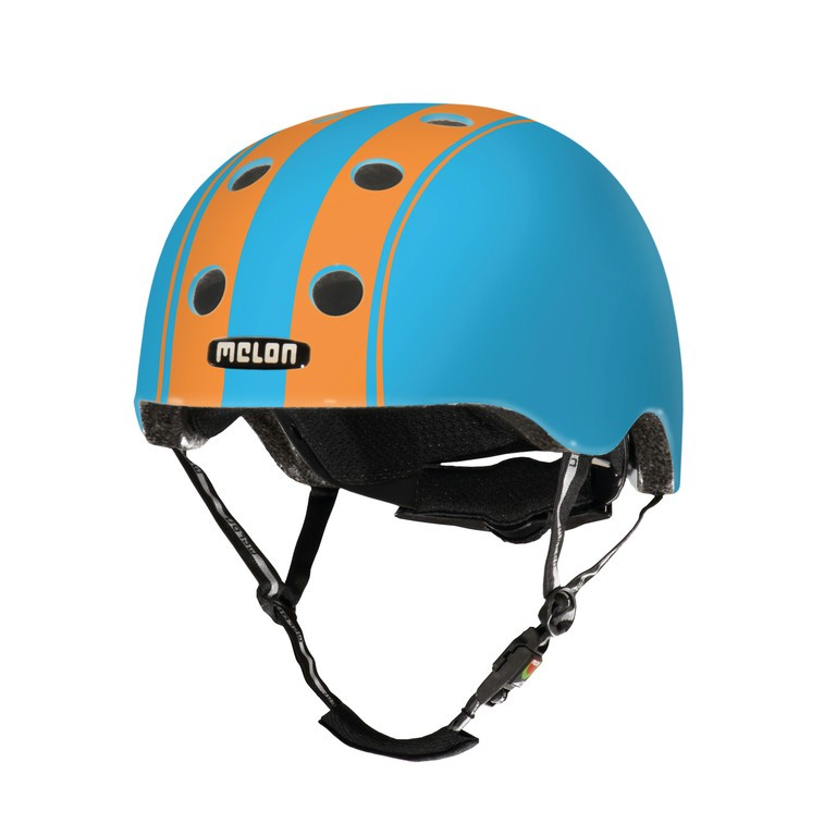 Helmet Melon Urban Active StoryDouble Orange Blue s. M-L (52-58cm) | Helmets