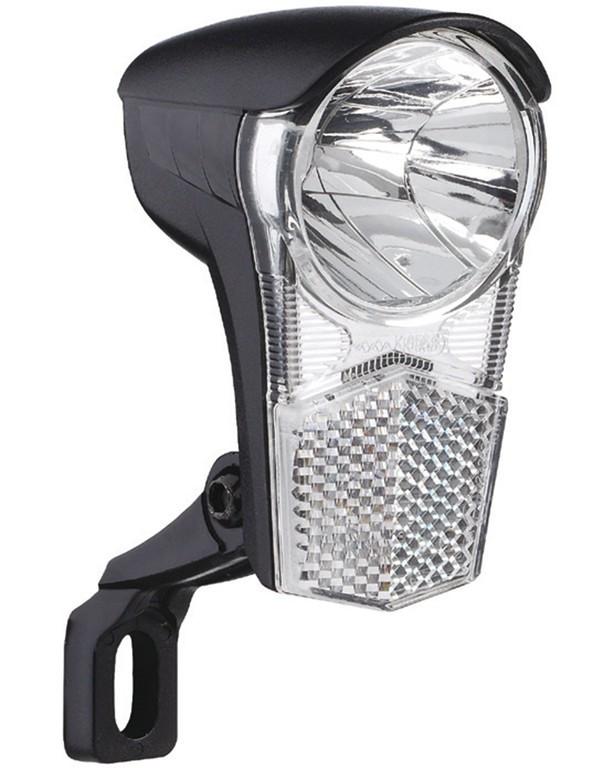 LED-light Dynamo Uni LEDca.15 Lux,with holder & switch | Dynamo Light