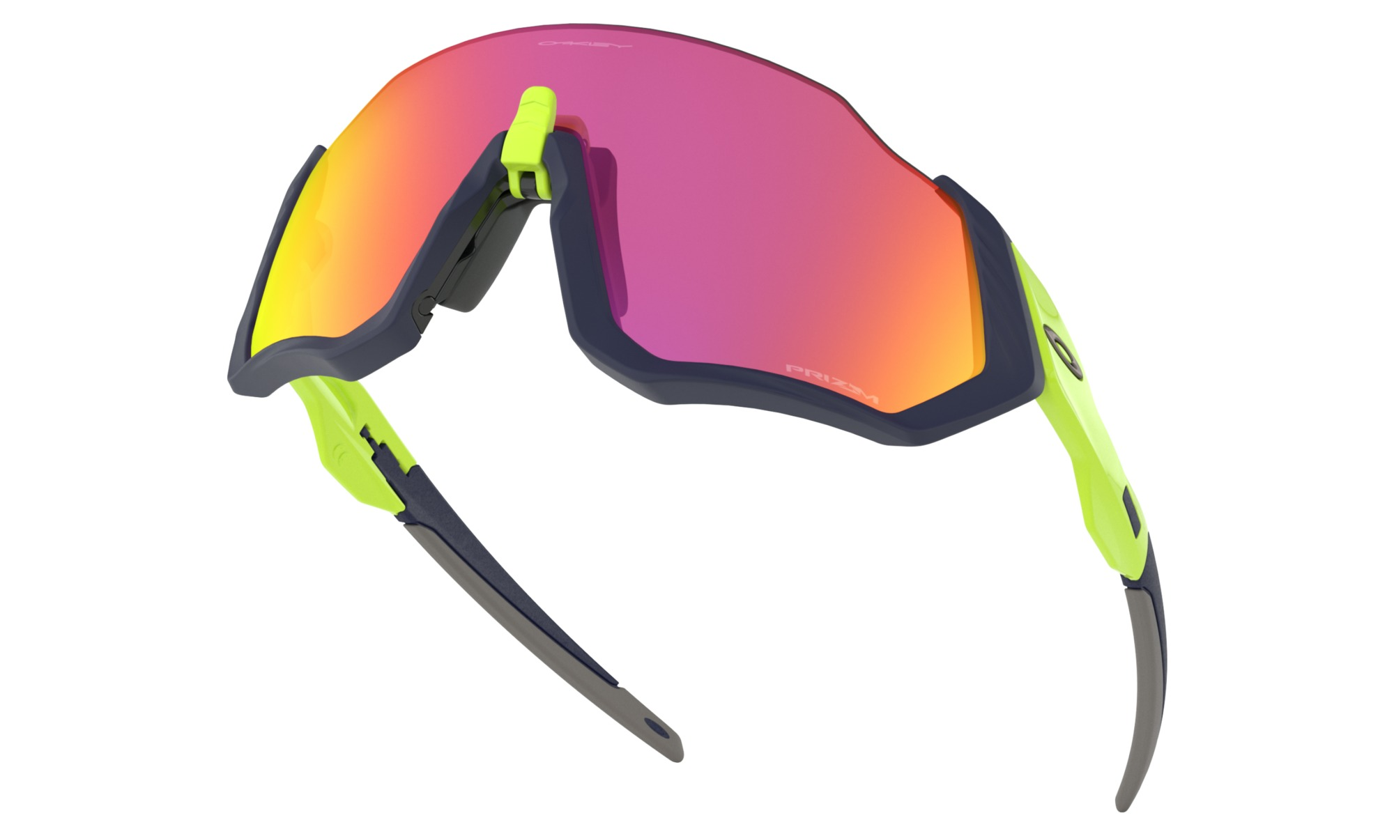 Oakley Flight Jacket Prizm Road Gul/sort