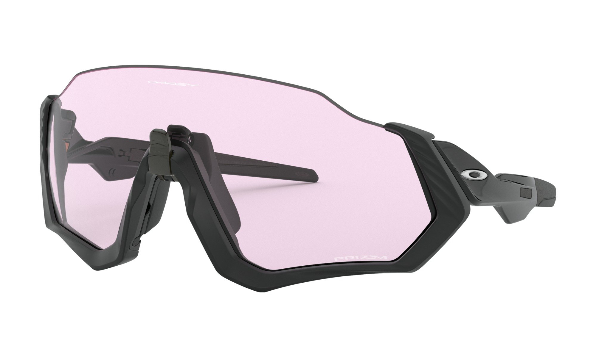 Oakley cykelbriller Flight Jacket Prizm Low Light sort
