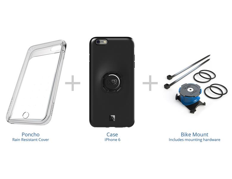 Quad Lock Bike Kit. Mobilholder til iPhone 6/6S
