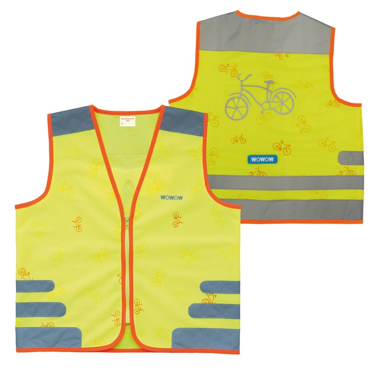 Safety vest Wowow Nutty Jacketfor kids yellow with refl. straps size S | Vests