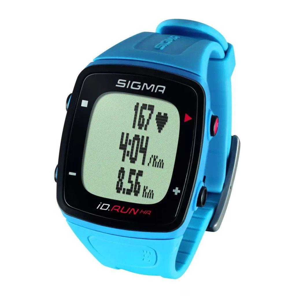 Sigma Sport iD.Run HR GPS Pulsur i Blå | Sports watches