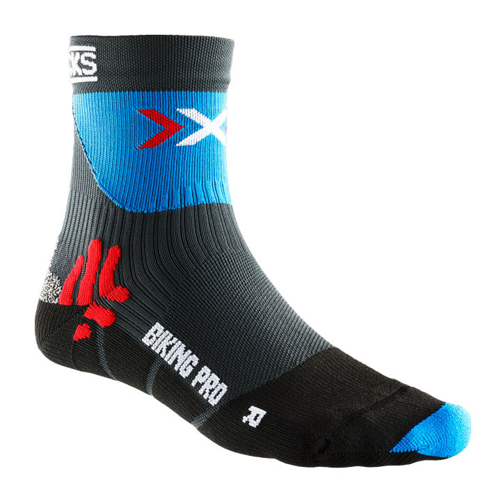 41e2663ca X-Bionic strømper Pro Cycling Socks, blue-black (39-41)
