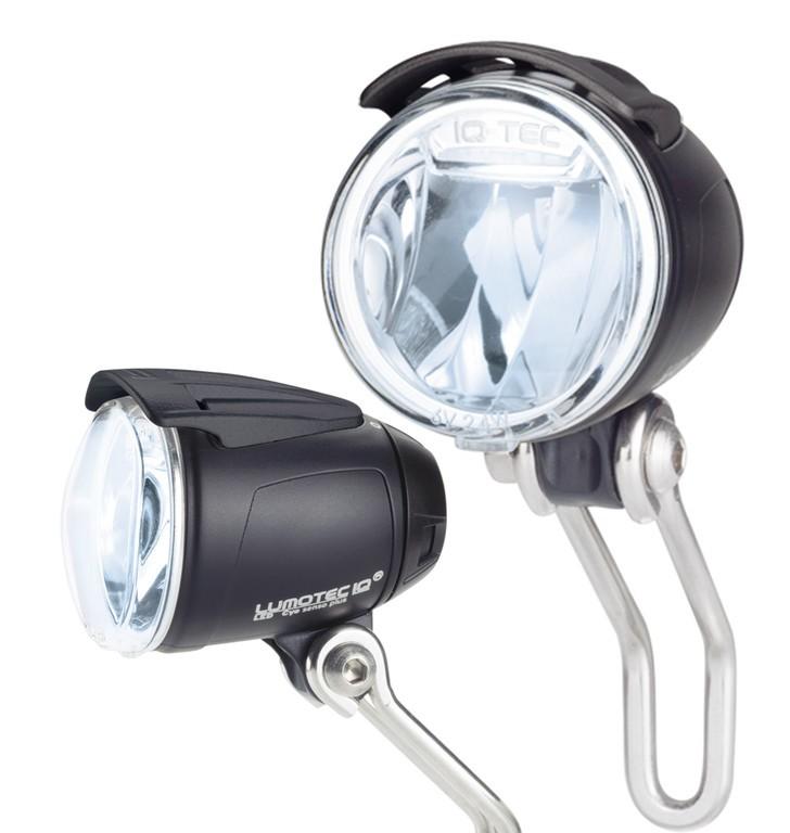 diode lamp b&m Lumotec IQ Cyo sensoplsidel. for dy. front hub,auto.175QSNDi   Hubs
