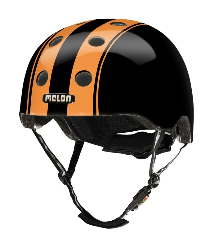 helmet Melon Urban Active StripesDouble Orange Black sizeXL-XXL (58-63cm) | Helmets