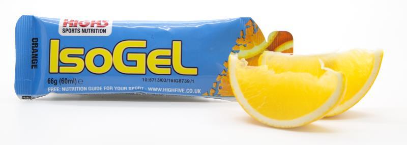 High5 Isogel - appelsin 60 g | Energy gels