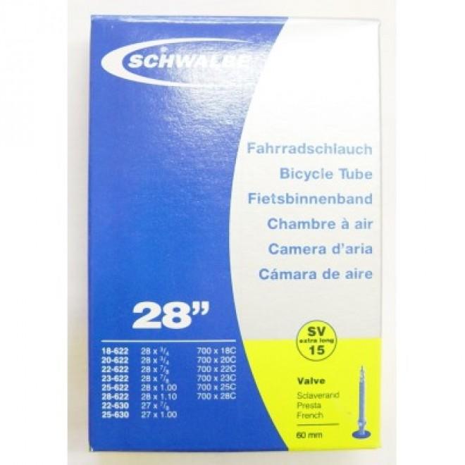 Slange 700x18-28 60 mm ventil Schwalbe | item_misc